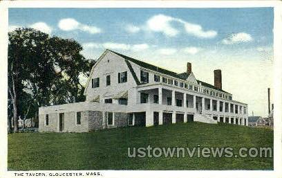 The Tavern - Gloucester, Massachusetts MA Postcard