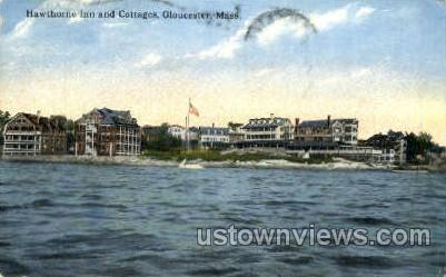 hawthorne Inn & Cottages - Gloucester, Massachusetts MA Postcard