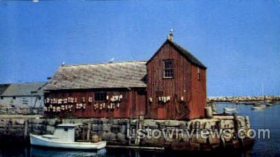 Motif Number One - Gloucester, Massachusetts MA Postcard