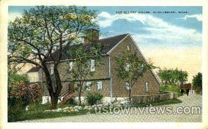 The Ellery House - Gloucester, Massachusetts MA Postcard