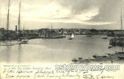 The Harbor - Gloucester, Massachusetts MA Postcard