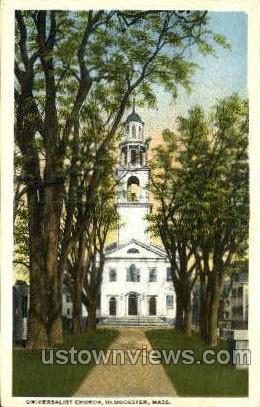 Universalist Church - Gloucester, Massachusetts MA Postcard