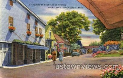 Rocky Neck - Gloucester, Massachusetts MA Postcard
