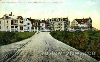 The Moorland & Cottages - Gloucester, Massachusetts MA Postcard