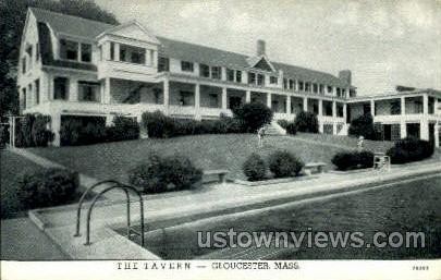 The Tavern - Gloucester, Massachusetts MA Postcard