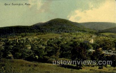 Great Barrington, Massachusetts, MA Postcard