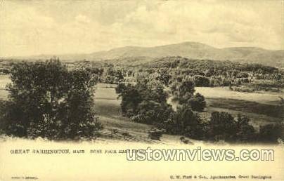 Dome - Great Barrington, Massachusetts MA Postcard