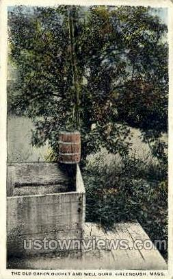 Old Oaken Bucke - Great Barrington, Massachusetts MA Postcard