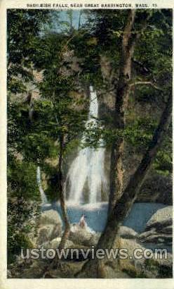 Bash Bish Falls - Great Barrington, Massachusetts MA Postcard