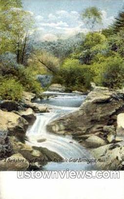 Rockdale - Great Barrington, Massachusetts MA Postcard