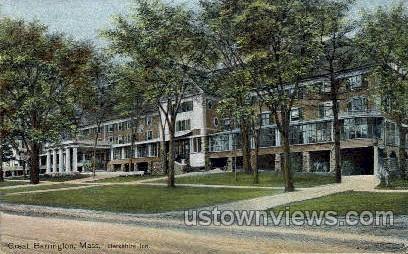 Berkshire Inn - Great Barrington, Massachusetts MA Postcard