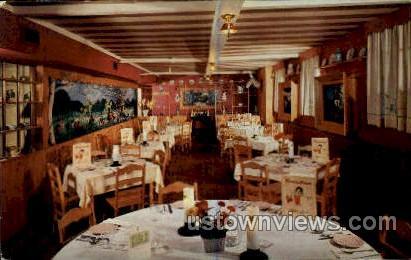 The Bavarian Room, Chalet Inn - Great Barrington, Massachusetts MA Postcard