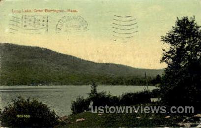 Long Lake - Great Barrington, Massachusetts MA Postcard