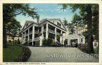 Colonial Inn - Great Barrington, Massachusetts MA Postcard