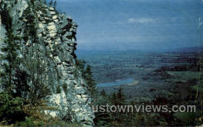 Monument Mountain Reservation - Great Barrington, Massachusetts MA Postcard