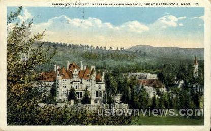 Barrington House - Great Barrington, Massachusetts MA Postcard