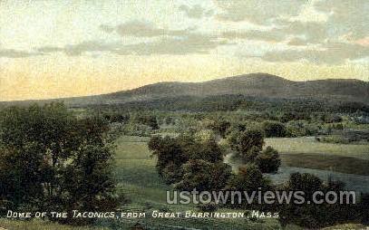 Dome of the Taconics - Great Barrington, Massachusetts MA Postcard