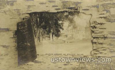 Soldiers Monument - Great Barrington, Massachusetts MA Postcard