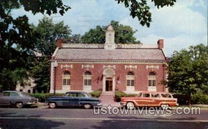 Mason Library - Great Barrington, Massachusetts MA Postcard