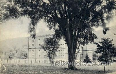 High School - Great Barrington, Massachusetts MA Postcard