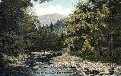 Green River - Great Barrington, Massachusetts MA Postcard