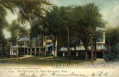 The Berkshire Inn - Great Barrington, Massachusetts MA Postcard