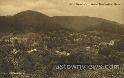 East Mountain - Great Barrington, Massachusetts MA Postcard