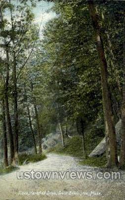 Lake Mansfield Drive - Great Barrington, Massachusetts MA Postcard