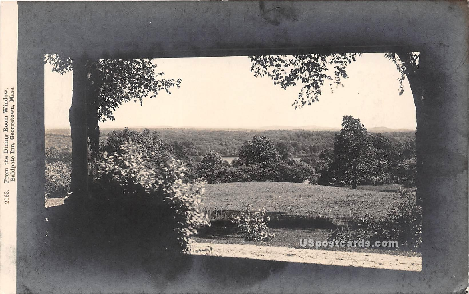 Bald Pate Inn - Georgetown, Massachusetts MA Postcard