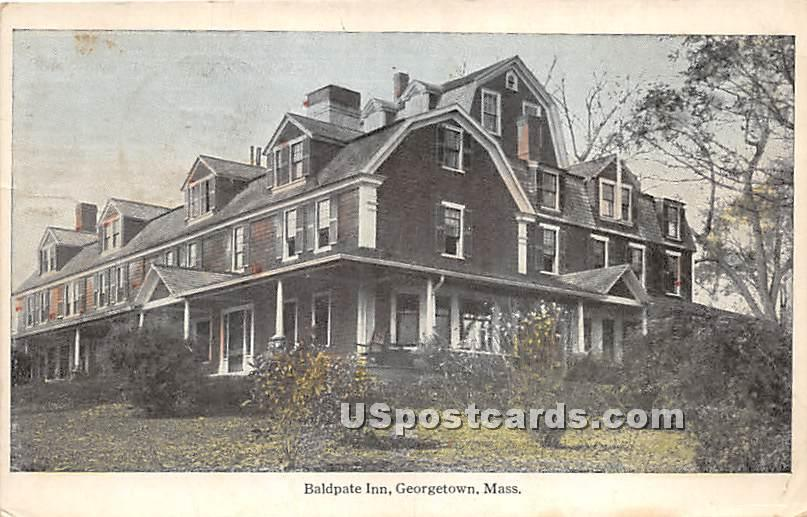 Baldpate Inn - Georgetown, Massachusetts MA Postcard