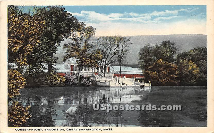 Conservatory Brookside - Great Barrington, Massachusetts MA Postcard