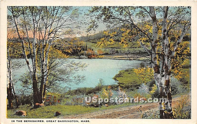 In the Berkshires - Great Barrington, Massachusetts MA Postcard