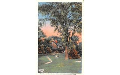 The Old Witch House Gloucester, Massachusetts Postcard
