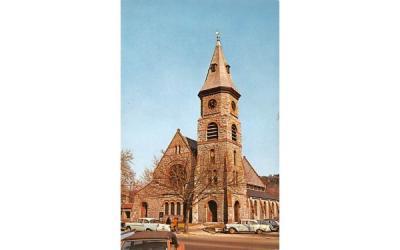 Congregational Church Great Barrington, Massachusetts Postcard
