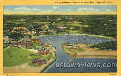 Harwich Port - Cape Cod, Massachusetts MA Postcard