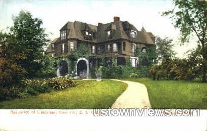 Residence of Governor E.S. Draper - Hopedale, Massachusetts MA Postcard