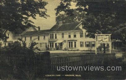Country Fare - Hingham, Massachusetts MA Postcard