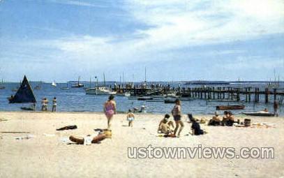 Hyannisport Beach - Cape Cod, Massachusetts MA Postcard