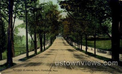 Hopedale St. - Massachusetts MA Postcard