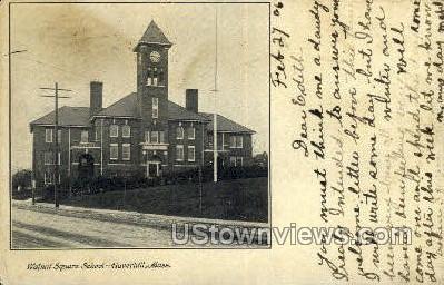 Walnut Square School - Haverhill, Massachusetts MA Postcard