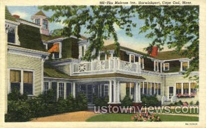 The Melrose Inn - Harwichport, Massachusetts MA Postcard