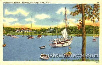 Wychmere Harbor - Harwichport, Massachusetts MA Postcard