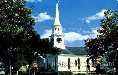 Congregational Church - Harwichport, Massachusetts MA Postcard