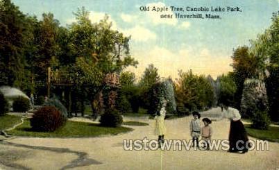 Canobie Lake Park - Haverhill, Massachusetts MA Postcard