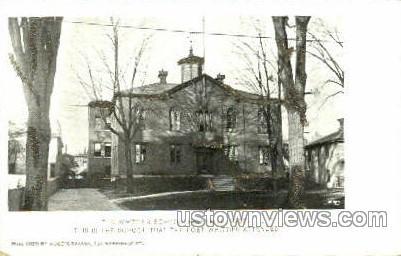 Whittier School - Haverhill, Massachusetts MA Postcard