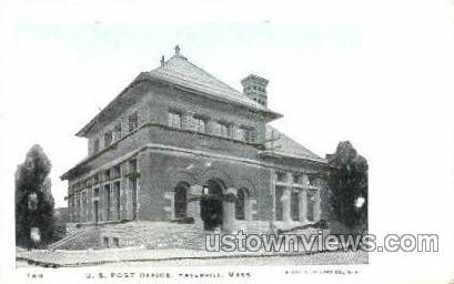 U.S. Post Office - Haverhill, Massachusetts MA Postcard
