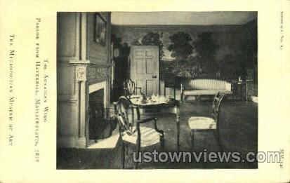 The American Wing Parlor - Haverhill, Massachusetts MA Postcard