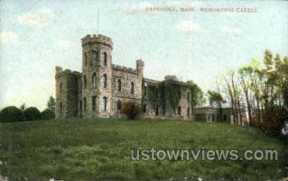 Winnikenni Castle - Haverhill, Massachusetts MA Postcard