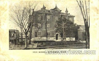 High School - Haverhill, Massachusetts MA Postcard