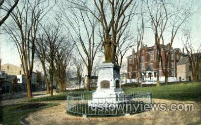 Hannah Duston Monument - Haverhill, Massachusetts MA Postcard